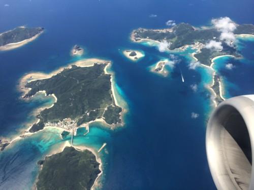 座間味島と阿嘉島